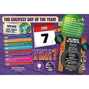 WHAT'S IN A DATE 7th JUNE STANDARD 400 PIECE