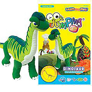 JUMPING CLAY - DINOSAUR KIT BRACHIOSAURUS