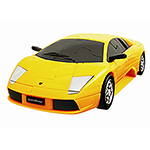 3D PUZZLE CAR LAMBORGHINI YELLOW Thumbnail