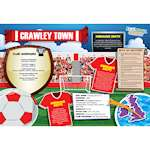 FOOTBALL CRAZY CRAWLEY TOWN 400 PIECE Thumbnail