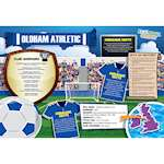 FOOTBALL CRAZY OLDHAM ATHLETIC 400 PIECE Thumbnail
