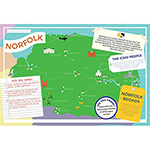 I LOVE MY COUNTY NORFOLK 400 PIECE Thumbnail