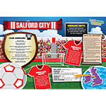 FOOTBALL CRAZY SALFORD CITY  400 PIECE Thumbnail