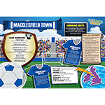 FOOTBALL CRAZY MACCLESFIELD TOWN 400 PIECE Thumbnail