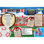 FOOTBALL CRAZY BRENTFORD 400 PIECE Thumbnail