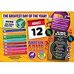 WHAT'S IN A DATE 12th AUGUST STANDARD 400 PIECE Thumbnail