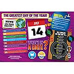 WHAT'S IN A DATE 14th JULY PERSONALISED 400 PIECE Thumbnail