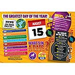 WHAT'S IN A DATE 15th AUGUST STANDARD 400 PIECE Thumbnail