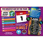 WHAT'S IN A DATE 1st JULY PERSONALISED 400 PIECE Thumbnail