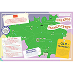 I LOVE MY COUNTY GREATER MANCHESTER 400 PIECE Thumbnail