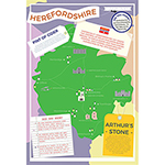 I LOVE MY COUNTY HEREFORDSHIRE 400 PIECE Thumbnail